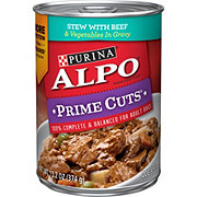Purina Alpo Prime Cuts Homestyle Stew With Beef And Vegetables In Gravy Dog Food