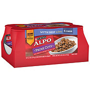 Purina Alpo Prime Cuts with Beef in Gravy Dog Food, 6 ct