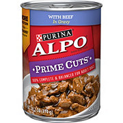 Purina Alpo Prime Cuts with Beef in Gravy Wet Dog Food