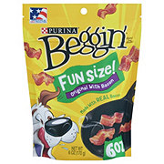 Purina Beggin' Littles Bacon Flavor Dog Treats
