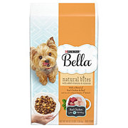 Purina Bella Natural Bites with Real Chicken & Beef Dry Dog Food