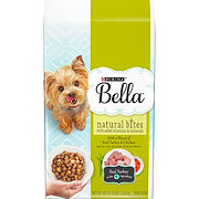 Purina Bella Natural Bites with Real Turkey & Chicken Dry Dog Food