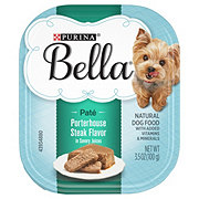 Purina Bella Porterhouse Steak in Savory Juices Wet Dog Food
