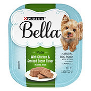 Purina Bella with Chicken & Smoked Bacon in Savory Juices Wet Dog Food