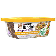 Purina Beneful Chopped Blends Chicken Liver Peas Rice Sweet Potatoes Dog Food