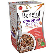 Purina Beneful Chopped Blends With Salmon, Tomatoes, Carrots and Wild Rice Dog Food