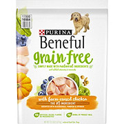 Purina Beneful Grain Free with Farm-Raised Chicken Dry Dog Food