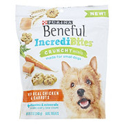 Purina Beneful IncrediBites Crunchy Minis Real Chicken & Carrots