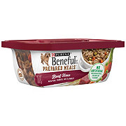 Purina Beneful Prepared Meals Dog Food, Beef Stew