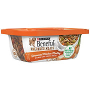 Purina Beneful Prepared Meals Dog Food, Simmered Chicken Medley