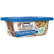 Purina Beneful Prepared Meals Roasted Turkey Medley Dog Food