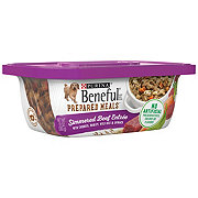 Purina Beneful Prepared Meals Simmered Beef Wet Dog Food