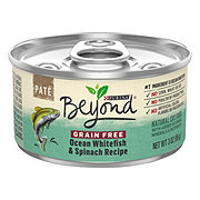 Purina Beyond Grain Free Pate Ocean Whitefish and Spinach