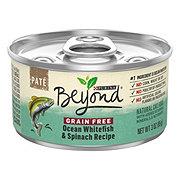 Purina Beyond Grain Free Pate Ocean Whitefish & Spinach Recipe Cat Food