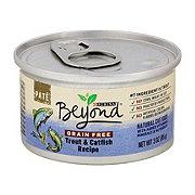 Purina Beyond Grain Free Pate Trout & Catfish Cat Food