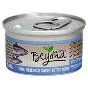 Purina Beyond Tuna Herring and Sweet Potato In Gravy Cat Food