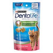 Purina DentaLife Salmon Flavor Dental Treats for Cats