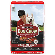 Purina Dog Chow Complete Adult with Real Beef Dry Dog Food