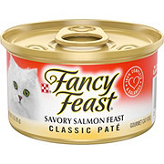 Purina Fancy Feast Classic Savory Salmon Feast Gourmet Cat Food
