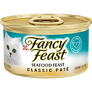 Purina Fancy Feast Classic Seafood Feast Gourmet Cat Food