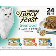 Purina Fancy Feast Classic Seafood Feast Variety Gourmet Cat Food