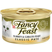 Purina Fancy Feast Classic Turkey and Giblets Feast Gourmet Cat Food