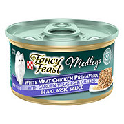 Purina Fancy Feast Elegant Medleys White Meat Chicken Primavera in a Classic Sauce with Garden Veggies and Greens Gourmet Cat Food