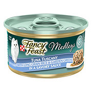 Purina Fancy Feast Elegant Medleys Yellowfin Tuna Tuscany in a Savory Sauce Cat Food