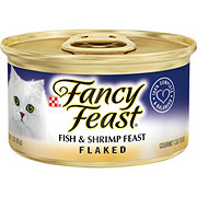 Purina Fancy Feast Flaked Fish & Shrimp Feast Gourmet Cat Food