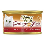 Purina Fancy Feast Gravy Lovers Beef Feast in Roasted Beef Flavor Gravy Gourmet Cat Food