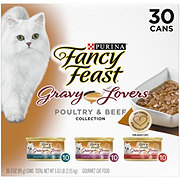 Purina Fancy Feast Gravy Lovers Gourmet Cat Food Variety Pack