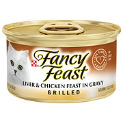 Purina Fancy Feast Grilled Liver & Chicken Feast in Gravy Gourmet Cat Food