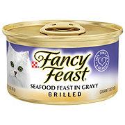 Purina Fancy Feast Grilled Seafood Feast in Gravy Gourmet Cat Food