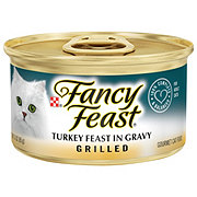 Purina Fancy Feast Grilled Turkey Feast in Gravy Gourmet Cat Food