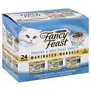Purina Fancy Feast Marinated Morsels Gourmet Cat Food Variety Pack