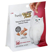 Purina Fancy Feast Purely Natural Hand Flaked Salmon Treats