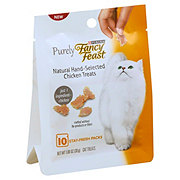 Purina Fancy Feast Purely Natural Hand Selected Chicken Treats