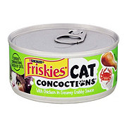 Purina Friskies Cat Concoction with Chicken in Creamy Crabby Sauce Cat Food