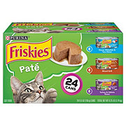Purina Friskies Classic Pate 3 Flavor Cat Food Variety Pack