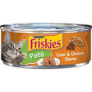 Purina Friskies Classic Pate Liver & Chicken Dinner Cat Food