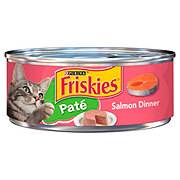 Purina Friskies Classic Pate Salmon Dinner Cat Food