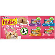 Purina Friskies Classic Pate Surfin' & Turfin' Favorites Variety Pack Cat Food