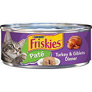 Purina Friskies Classic Pate Turkey and Giblets Dinner Cat Food