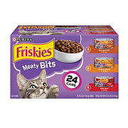 Purina Friskies Meaty Bits Sliced 3 Flavor Variety Pack Cat Food