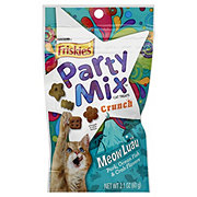 Purina Friskies Party Mix Meow Luau Crunch Cat Treats