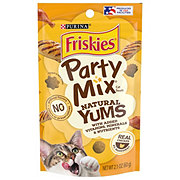Purina Friskies Party Mix Naturals with Real Chicken Cat Treats