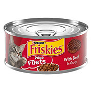 Purina Friskies Prime Filets with Beef Cat Food