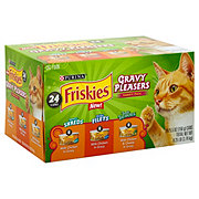 Purina Friskies Savory Shreds Cat Food Variety Pack