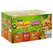 Purina Friskies Savory Shreds Variety Pack Cat Food