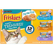 Purina Friskies Tasty Treasures Assorted Flavors Cat Food